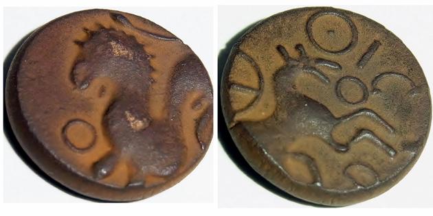 monnaie gauloise en bronze ? Gauloi11