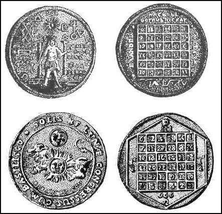 Pièce médaille ... ou autre à identifier Talism10