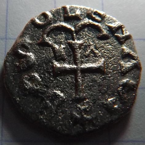 monnaie mérovingienne a identifier Triens11
