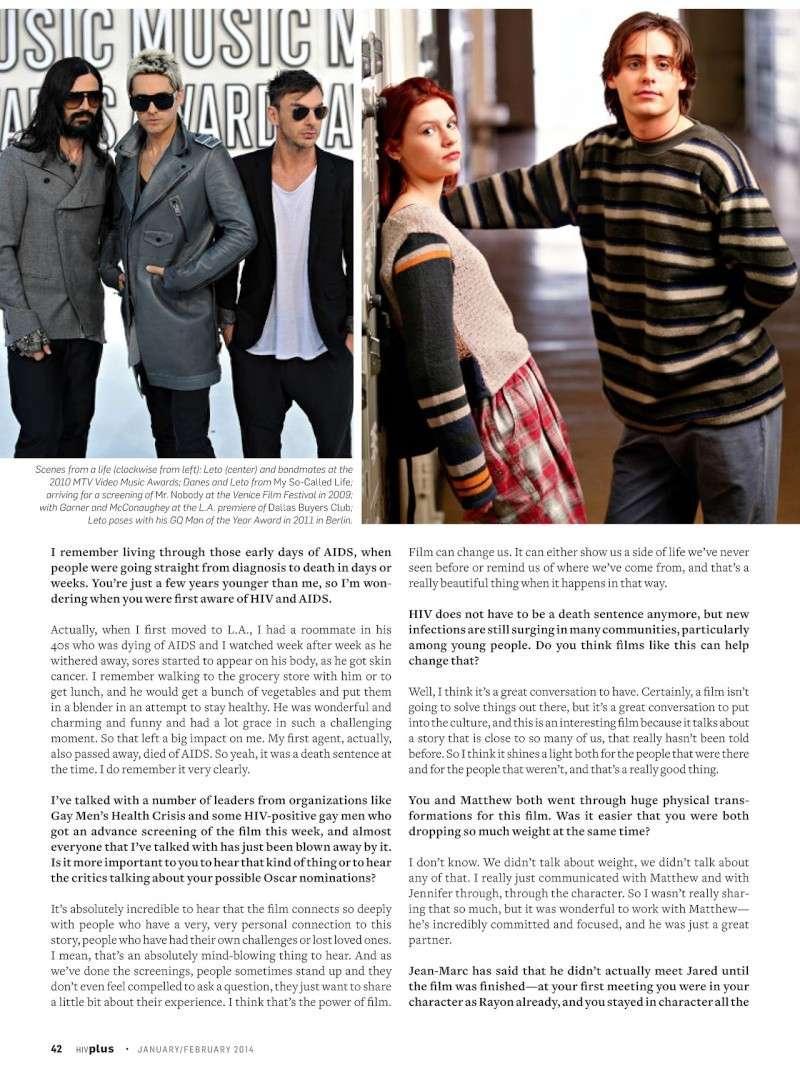HIV Plus Magazine - janvier/février 2014 Tumblr17