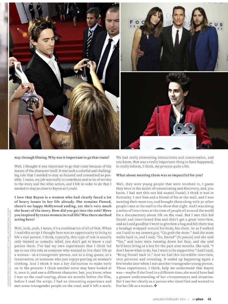 HIV Plus Magazine - janvier/février 2014 Tumblr18