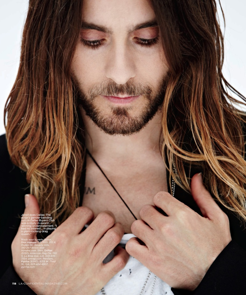 Jared Leto - LA Confidential Magazine - 2014 Tumblr25
