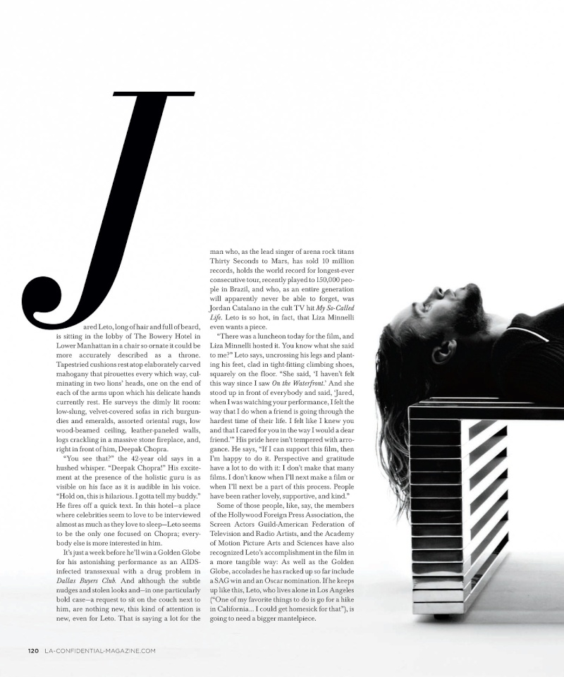 Jared Leto - LA Confidential Magazine - 2014 Tumblr27
