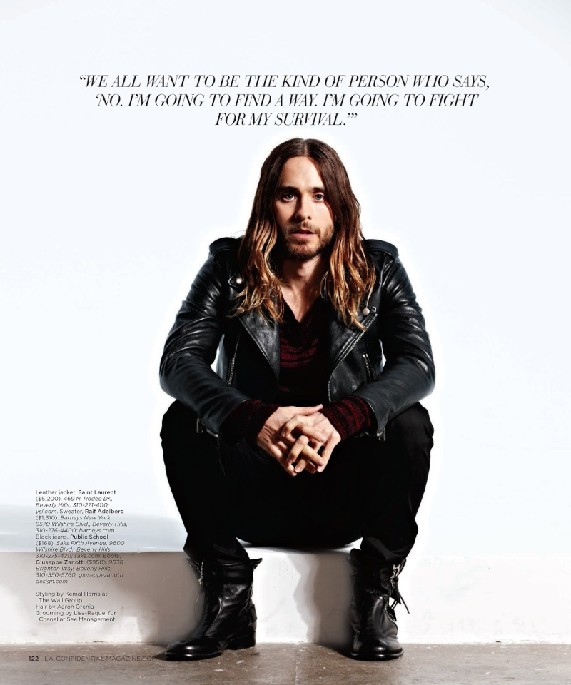 Jared Leto - LA Confidential Magazine - 2014 Tumblr29