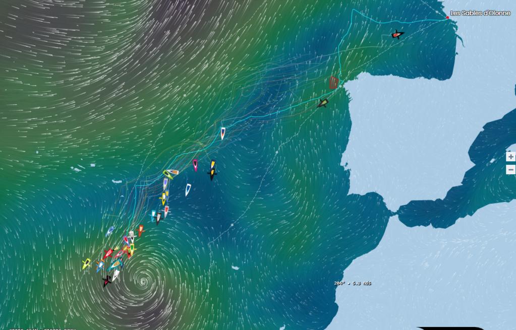 Le Vendée Globe 2020 : les bateaux, la course réelle Sans_t10