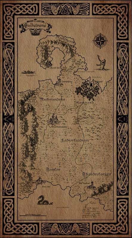Ancienne carte Générale de Guilhetranie  Guilhe12