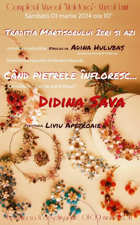 """""""Flori de piatră-Bijoux"""" albumul I-bijuterii artizanale marca Didina Sava - Pagina 18 Afisul10"""