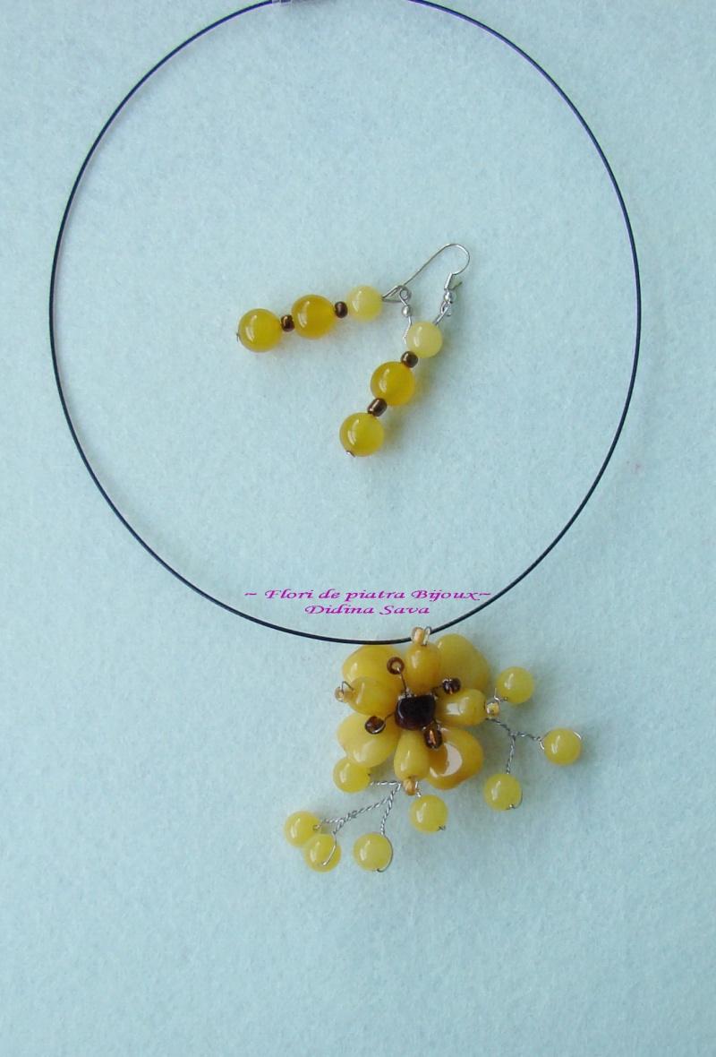 """""""Flori de piatră-Bijoux"""" albumul I-bijuterii artizanale marca Didina Sava - Pagina 18 Colie114"""
