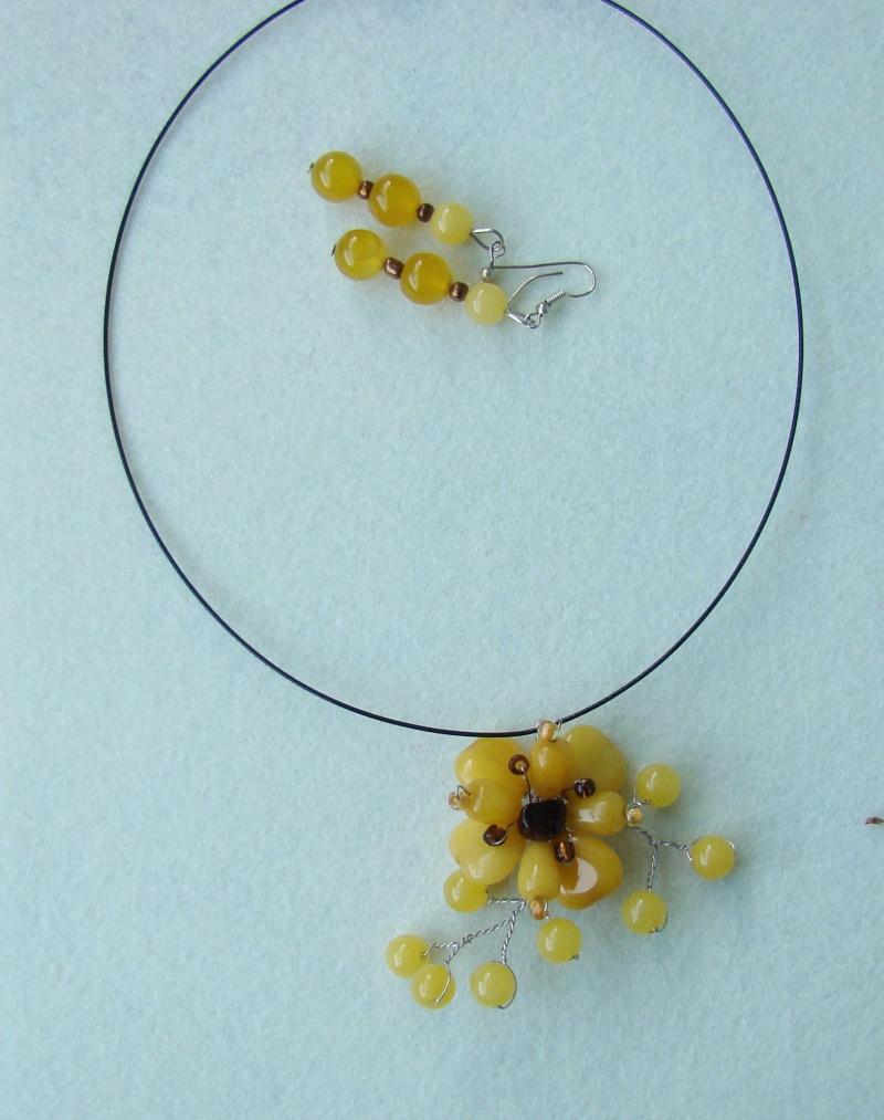 """""""Flori de piatră-Bijoux"""" albumul I-bijuterii artizanale marca Didina Sava - Pagina 18 Colie115"""