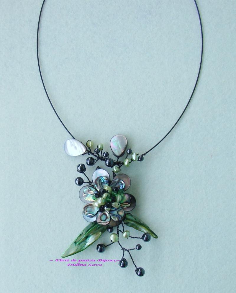 """""""Flori de piatră-Bijoux"""" albumul I-bijuterii artizanale marca Didina Sava - Pagina 19 Colie118"""