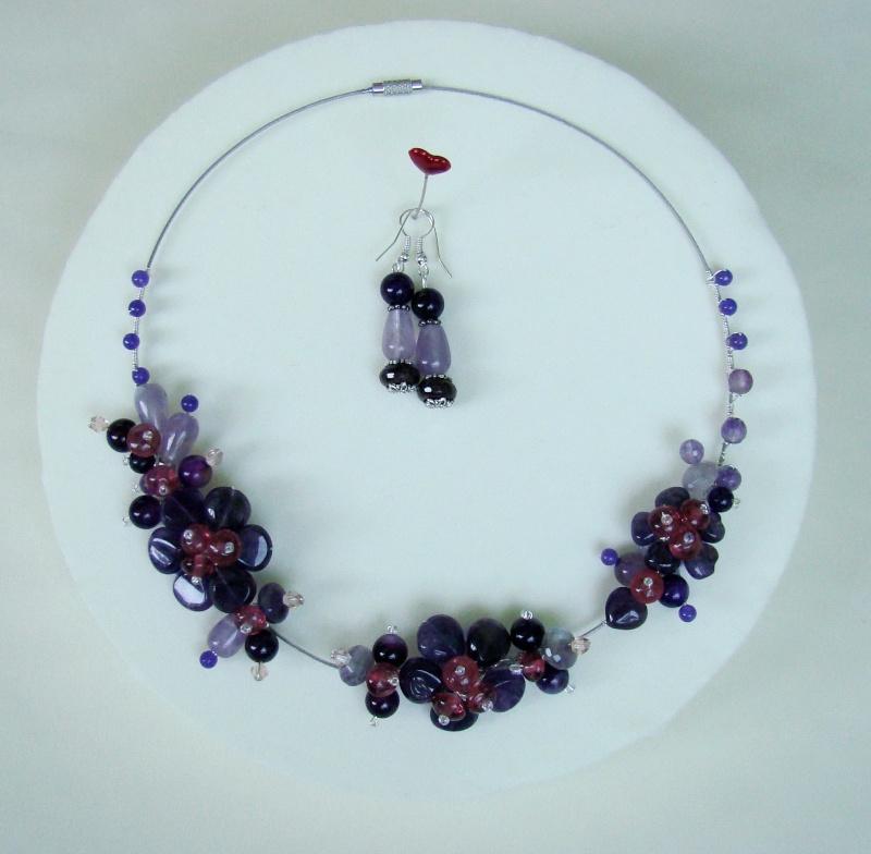 """""""Flori de piatră-Bijoux"""" albumul I-bijuterii artizanale marca Didina Sava - Pagina 17 Colie248"""