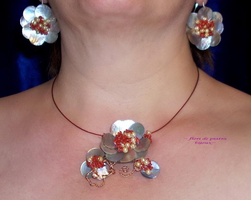 """""""Flori de piatră-Bijoux"""" albumul I-bijuterii artizanale marca Didina Sava - Pagina 20 Colier30"""