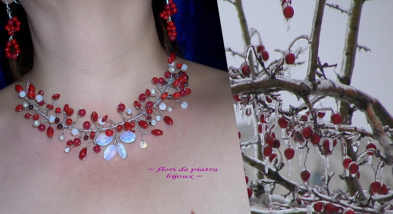 """""""Flori de piatră-Bijoux"""" albumul I-bijuterii artizanale marca Didina Sava - Pagina 19 Colier63"""