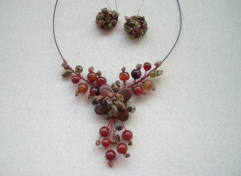 """""""Flori de piatră-Bijoux"""" albumul I-bijuterii artizanale marca Didina Sava - Pagina 19 Colier88"""