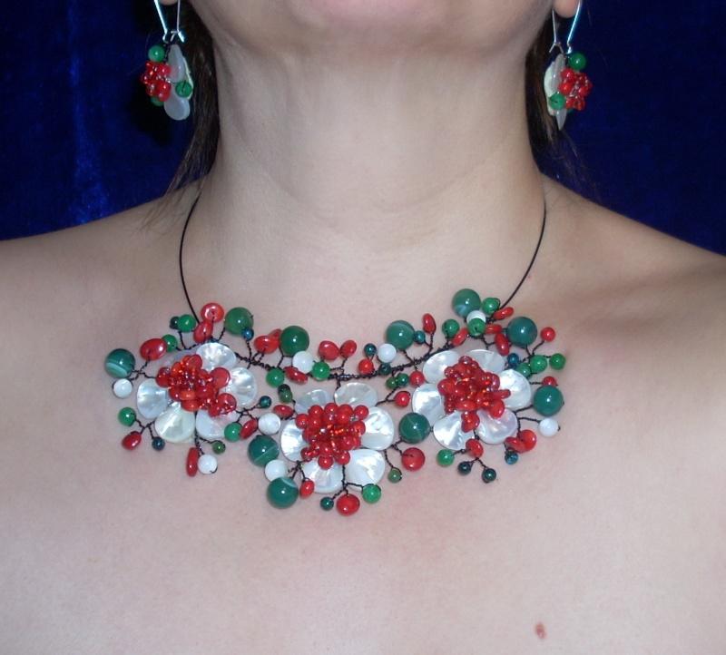 """""""Flori de piatră-Bijoux"""" albumul I-bijuterii artizanale marca Didina Sava - Pagina 19 Colier97"""
