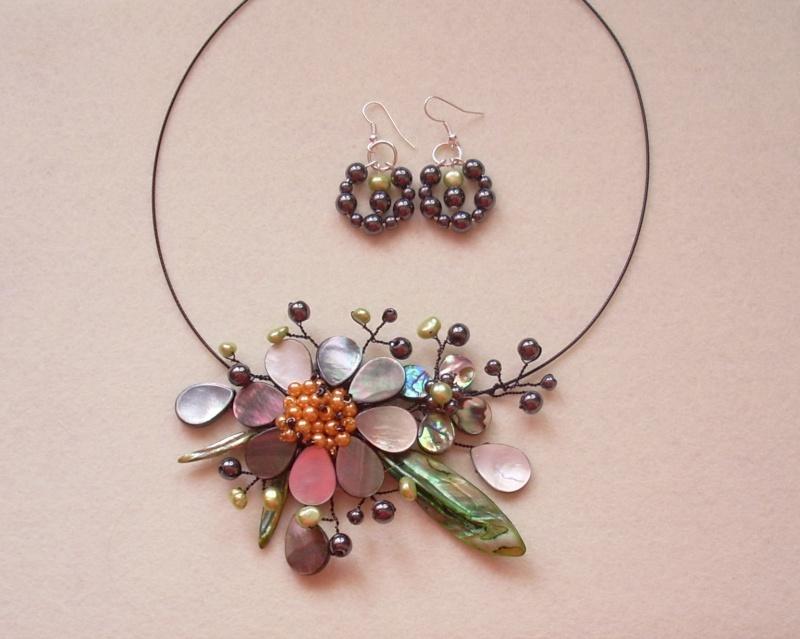 """""""Flori de piatră-Bijoux"""" albumul I-bijuterii artizanale marca Didina Sava - Pagina 18 Colier98"""