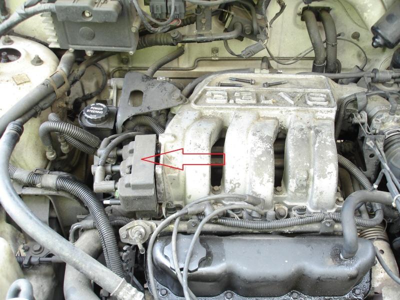 où trouver le calorstat (s2 3.3L V6 ) Dsc05011