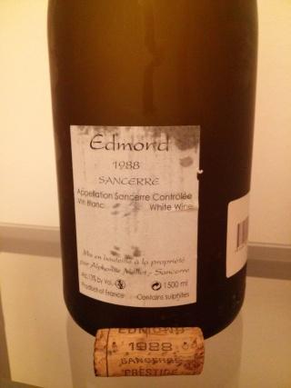 Sancerre Cuvée Edmond 1988, Alphonse Mellot Cam02510