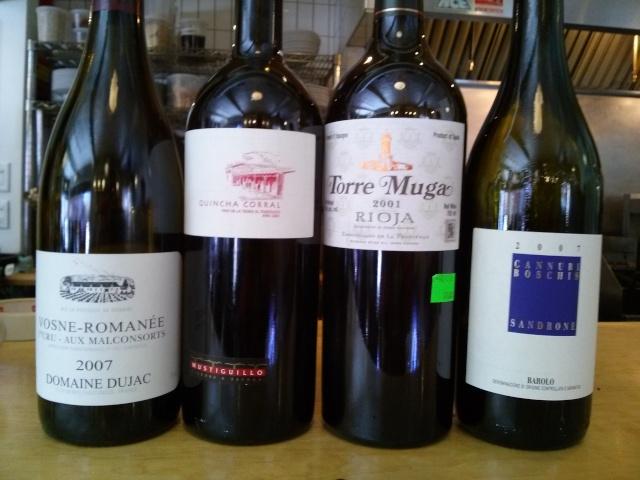 Dîner QG mercredi le 7 mai: Grand vin du midi.... Cam02818
