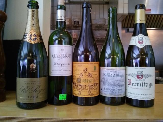 Dîner QG mercredi le 7 mai: Grand vin du midi.... Cam02819