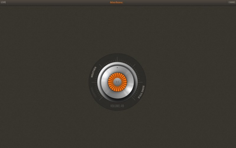 HTML5 Webradio Screen15