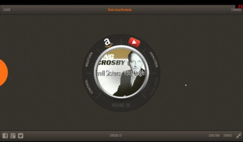 HTML5 Webradio Screen16