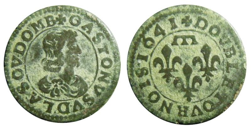 Double-Tournois de Gaston d'orléans - Type 16 Cgkl7510