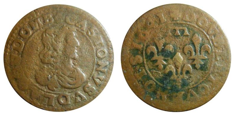 Double-Tournois de Gaston d'orléans - Type 16 Cgkl7511