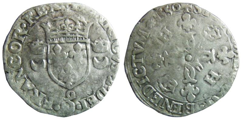 Douzain Henri II - Rennes - 1550 Douzai12