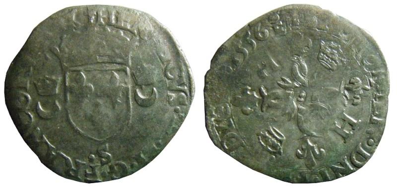 Douzain Henri II - Troyes 1556 Douzai15