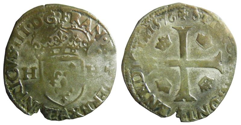 Douzain Henri III - Paris - 1577 ? Douzai17
