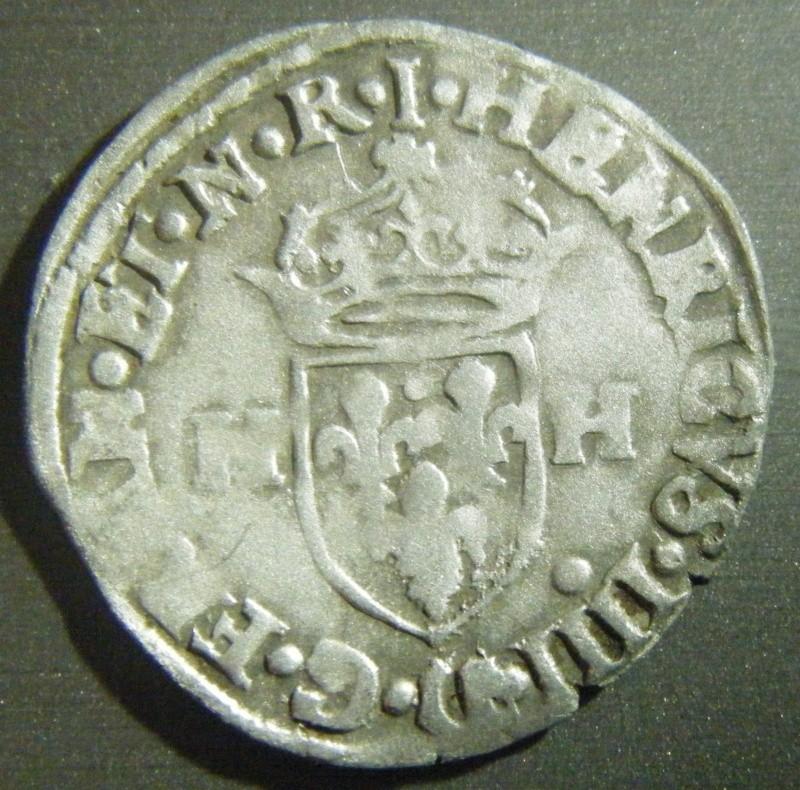 Douzain Henri IV - 1591 atelier Limoges Dscf3610