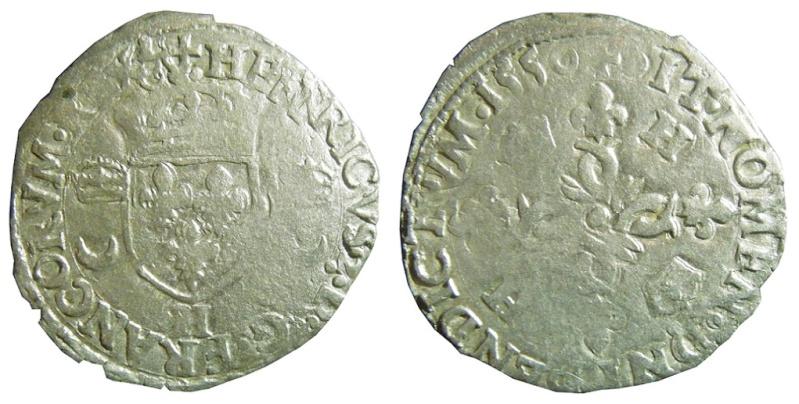 Douzain de La Rochelle - Henri II - 1550 - Légendes ?  Henrii10