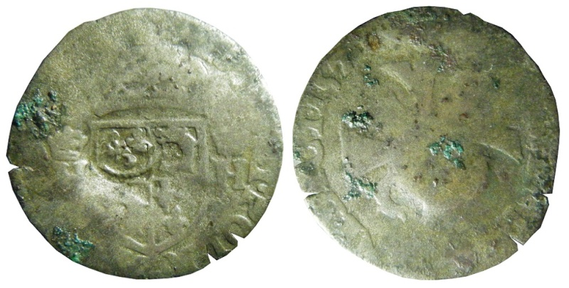 Quinzain Henri III sur Douzain du dauphiné - 1571 ? Quinza10