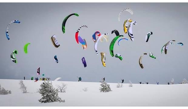 Championnat de France de snowkite : CFSK 2014 aux Supeyres 15/16 février Cfsk10