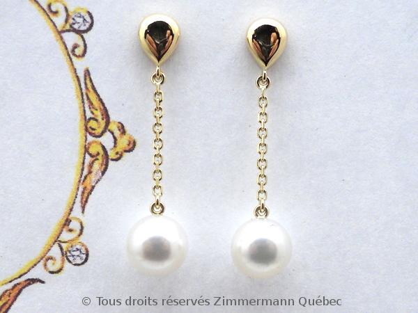 Boucles d'oreille perles Akoya suspendues sur chaîne forçat Dscn0510
