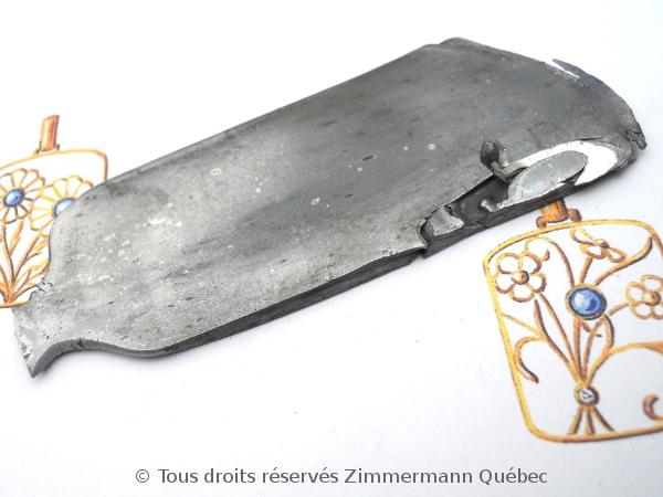 Un bout de palladium dans un lingot d'argent de 61 grammes Dscn1017