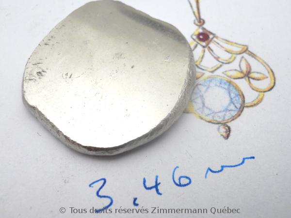 Une vidéo non prévu sur la refonte en surface d,un lingot de platine ( 54 grammes ) Dscn3825