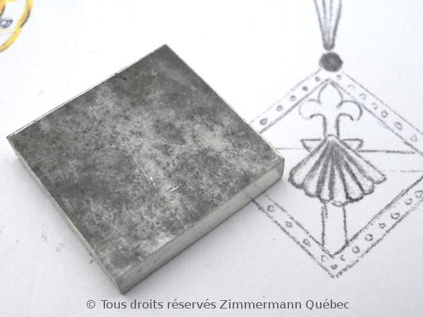 Un pendentif argent et or pour homme Dscn5520