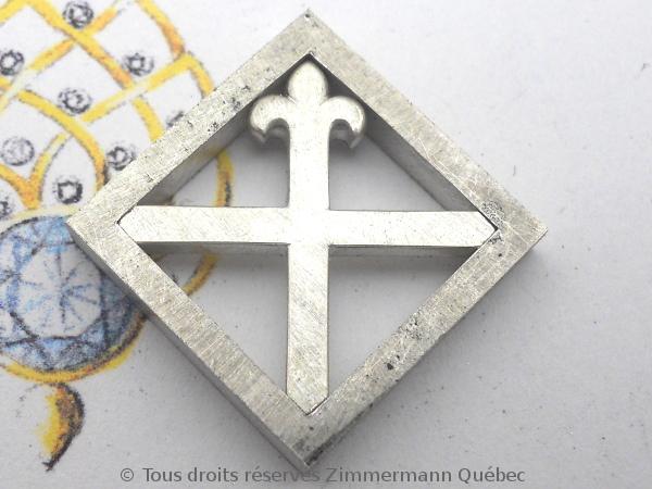 Un pendentif argent et or pour homme Dscn5523