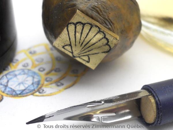 Un pendentif argent et or pour homme Dscn5526