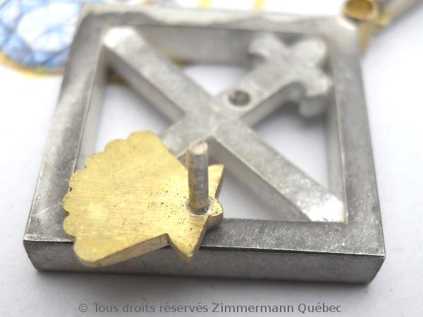 Un pendentif argent et or pour homme Dscn5529