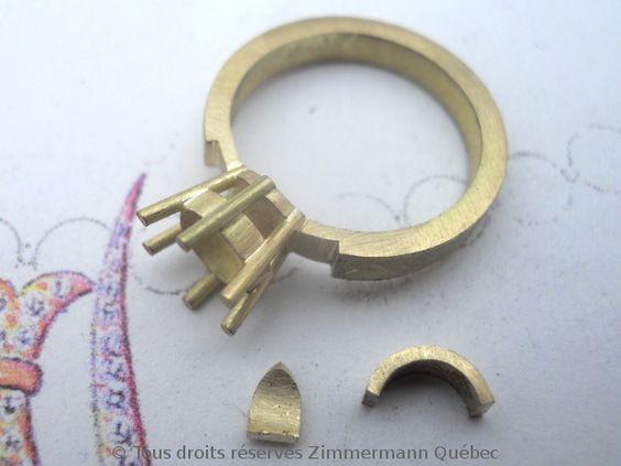 Bague argent/griffes/palmettes convexes/aigue-marine F840d210