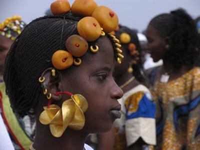 Boucles d'oreilles Peul Mali_f10