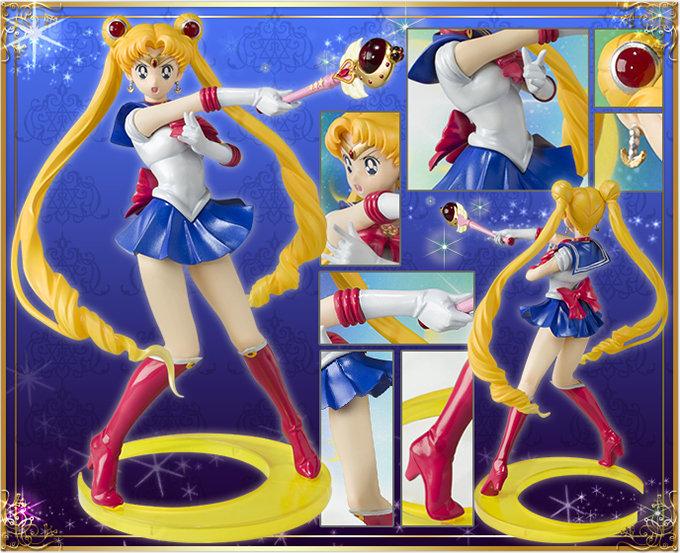 Sailor Moon / 1/8 PVC S.H.Figuarts Zero Sailor Moon / Bandai (Mars 2014) Q5mhrh10