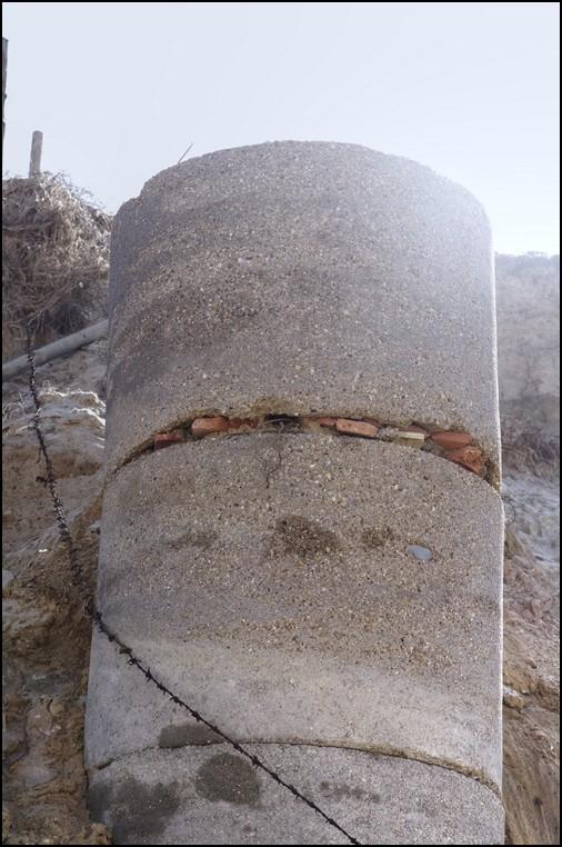 La tempète dans les Landes ... un bunker réapparait ! 115