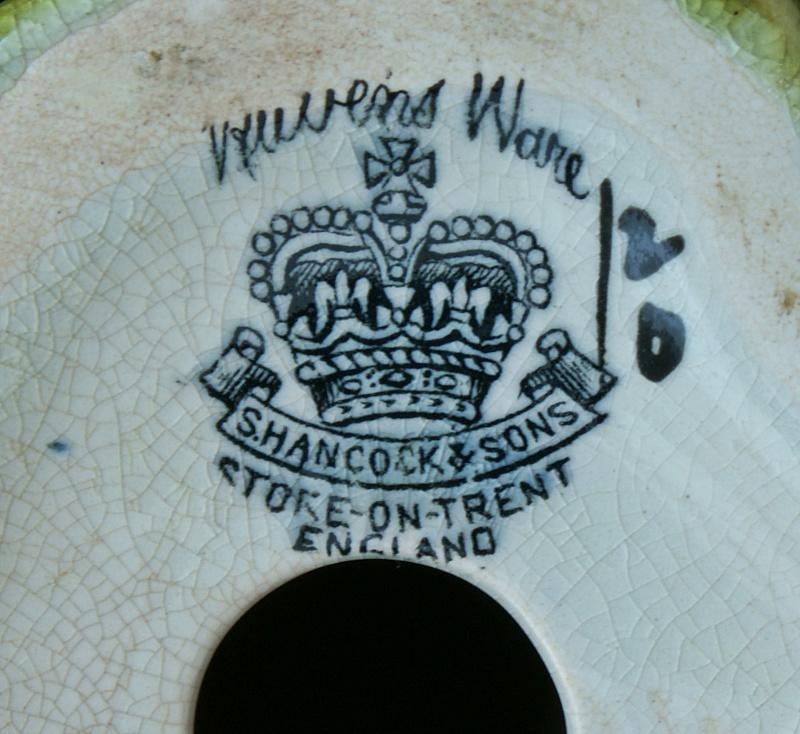 "S. Hancock & Sons (Staffs). Corona Ware, ""Lagoon Ware"".  Dsc01016"