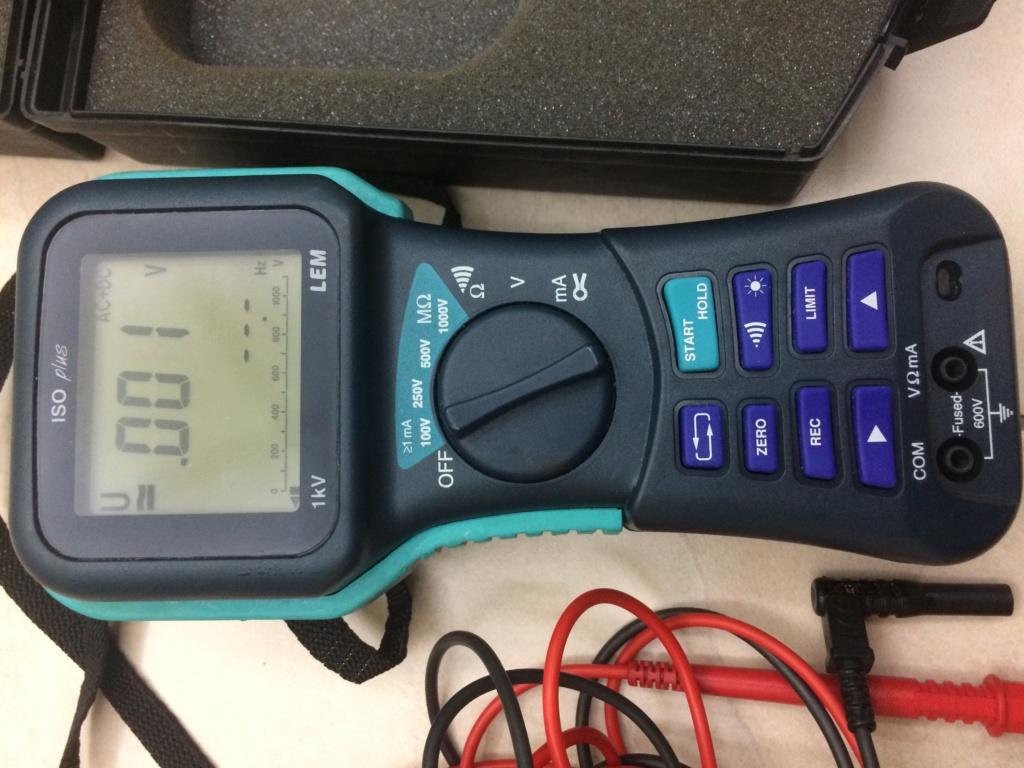 LEM insulation megger tester (used) Img_3210