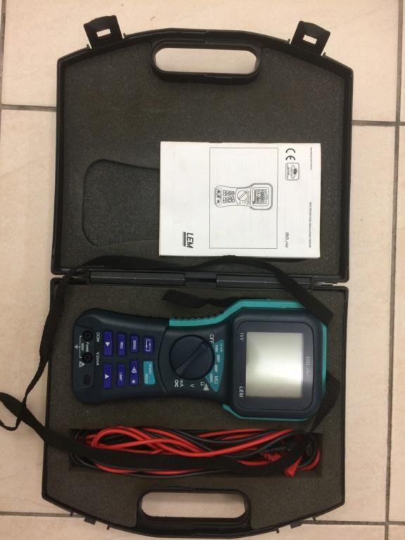 LEM insulation megger tester (used) Img_3212