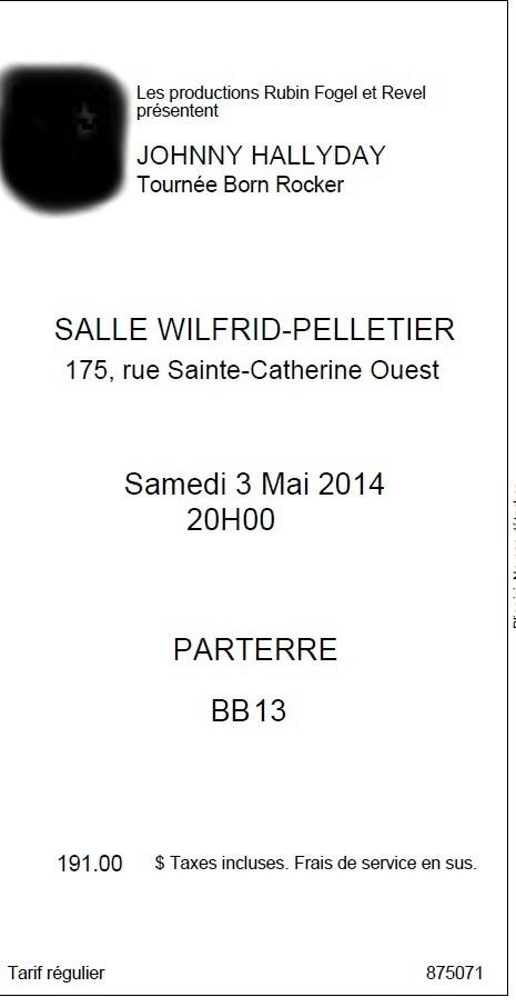 SET LIST CONCERT CAPITOLE DE QUEBEC 27 & 29 AVRIL 2014 Sans_t14